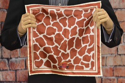 Premium Pocket Square - Giraffe