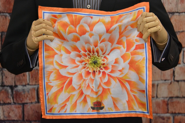 Premium Pocket Square - Core Flower