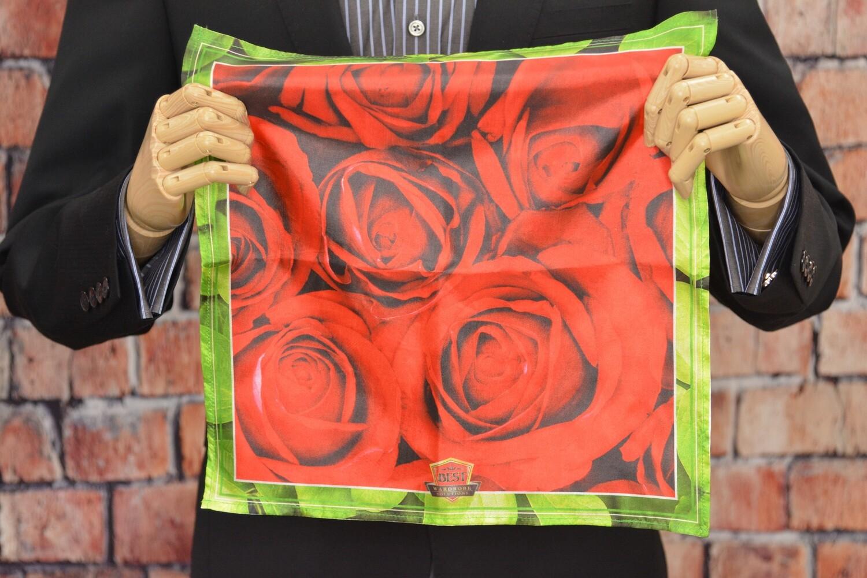 Premium Pocket Square - Rose Petal