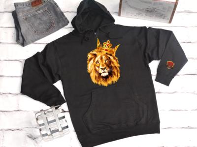 Hoodie - Crown Lion