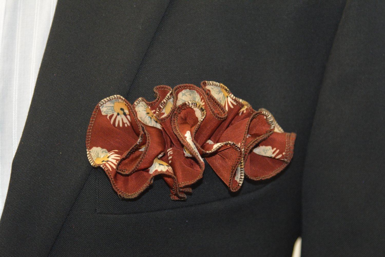Pocket Round - Copper Flower