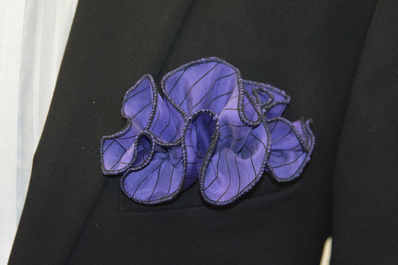 Pocket Round - Purple Silk