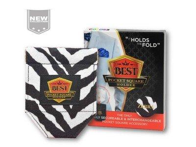 Best Pocket Square Holder COLORS - Zebra