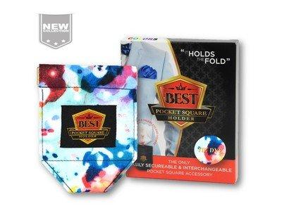 Best Pocket Square Holder COLORS - Tie Dye