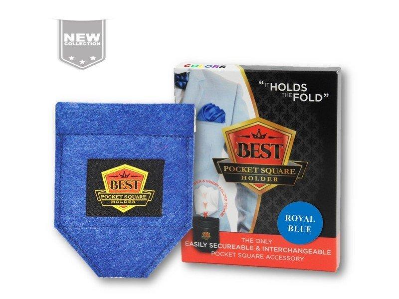 Best Pocket Square Holder COLORS - Royal Blue