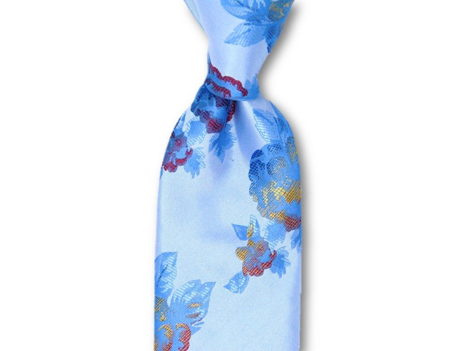 Necktie Set - Carolina Flowers