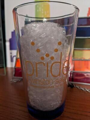 Pride WS Retro Logo Pint Glass