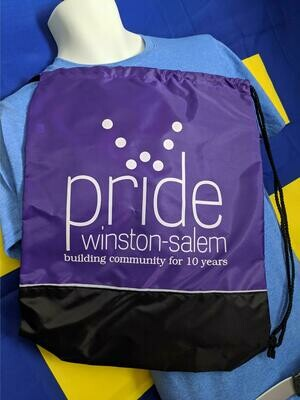 PWS Retro Logo Drawstring Bag