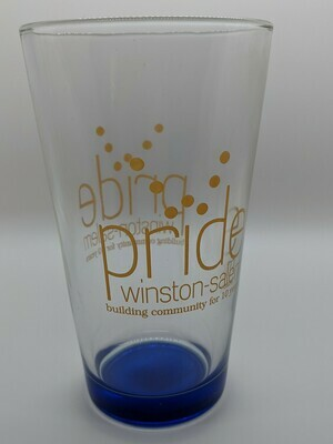 Pride WS Retro Pint Glass
