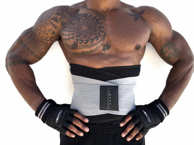 MEN - FMT Fitness Belt (GREY)