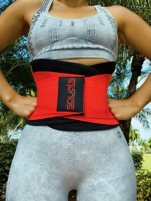 WOMEN - Fitness Belt RED