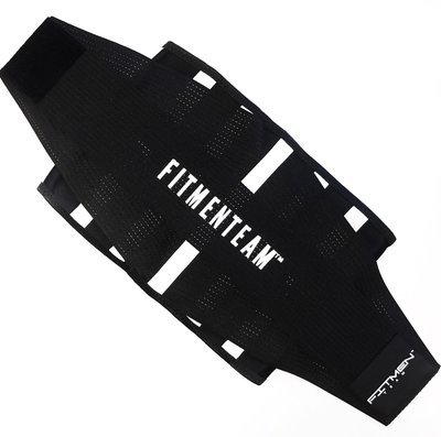 MEN - FMT Fitness Belt (Black & White)