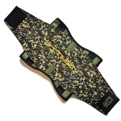 MEN - FMT Fitness Belt (GREEN CAMO)
