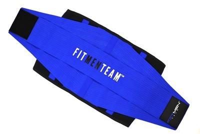 MEN - FMT Fitness Belt (BLUE)
