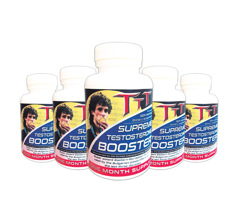 5xTTT Booster- Testo Booster Number 1! Discounted! Free shipping!