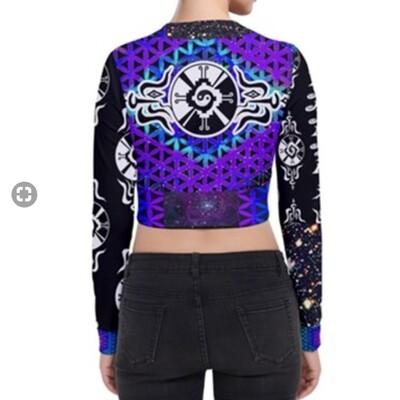 Purple Star*Gate * Crop Jacket