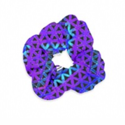 Deep Purple Star*Gate  Super Size Velvet Scrunchie