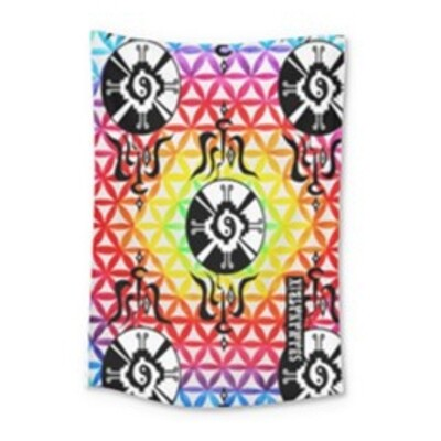 Galactic Flower Portal ~Tapestry