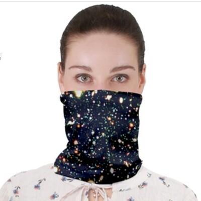 Deep Field StarGarden_ Neck Band ~Face Cover ~ Gator