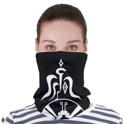 Dark Star Gate _ Neck Gator ~ Face Covering