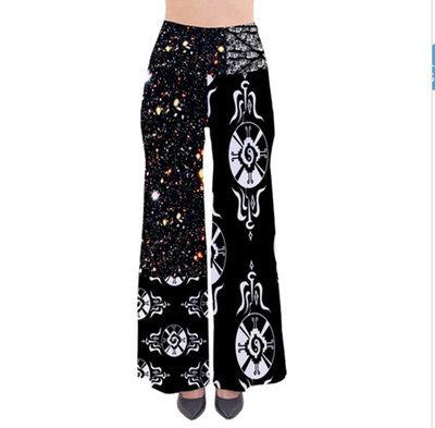 Galactic Star*Gate Free Flow Palazzo ~Wide Leg  Pants