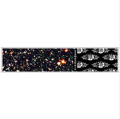 Galactic Star*Gate ~ Fuzzy Flano Scarf
