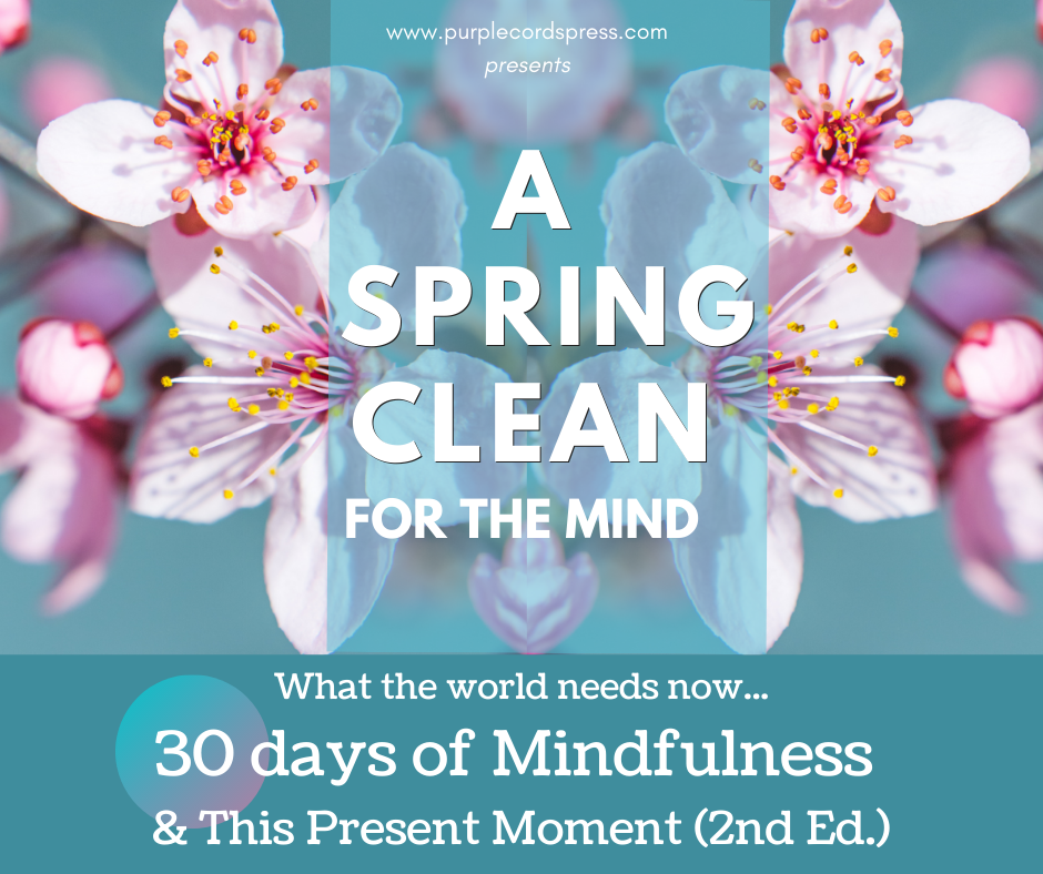 'Spring Clean for the Mind' - 30 Day Mindfulness E-Course (inc. free copy of 'This Present Moment' )