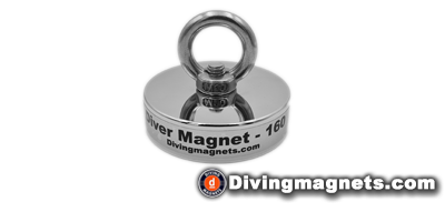 160kg Pull - Magnet and Eye bolt