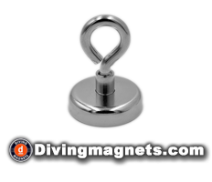 Magnetic Hook - 48mm dia - 81kg Pull