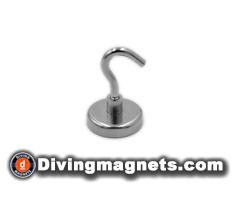 Magnetic Hook - 36mm dia - 41kg Pull