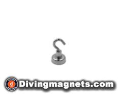 Magnetic Hook - 20mm dia - 9kg Pull