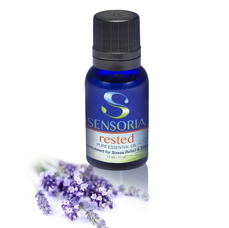 Rested Essential Oil Blend for a Better Night's Sleep
