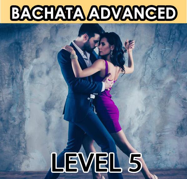Bachata Dancing. Level 4