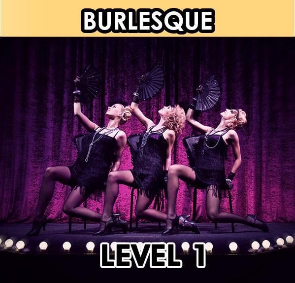 Burlesque Dancing. Level 1