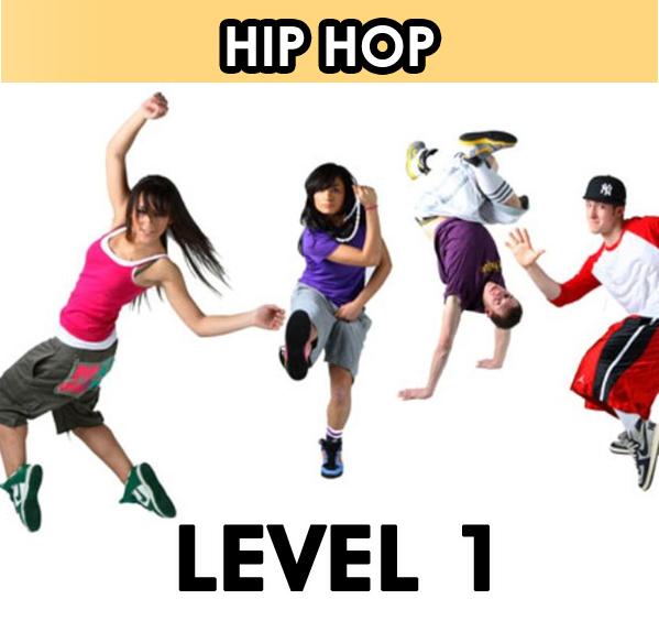 Hip Hop Dancing. Level 1