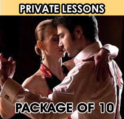 Private Lesson. Package of 10 Lessons