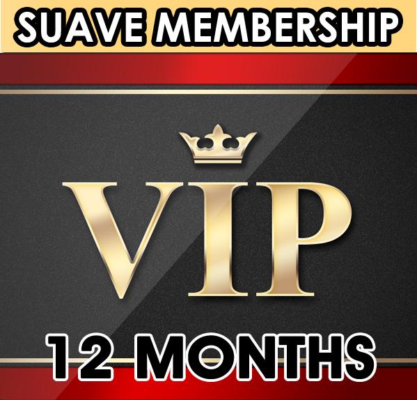 Suave Membership. 12 Months