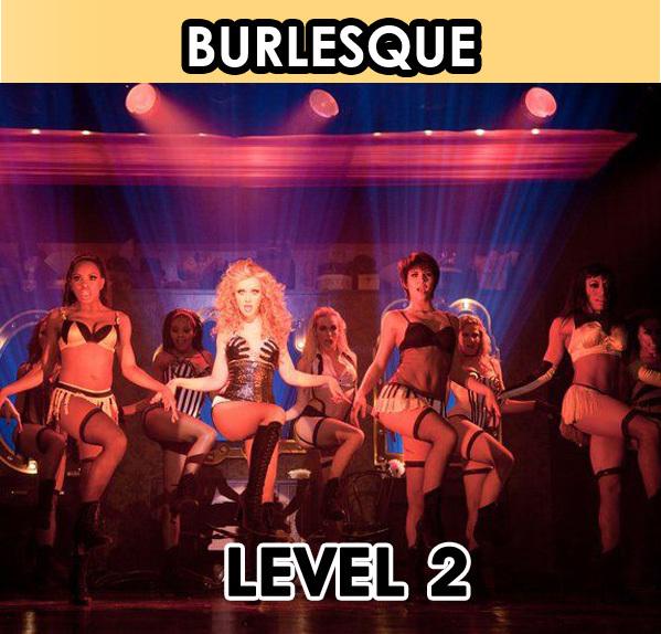 Burlesque Dancing. Level 2
