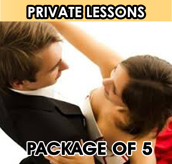 Private Lesson. Package of 5 Lessons