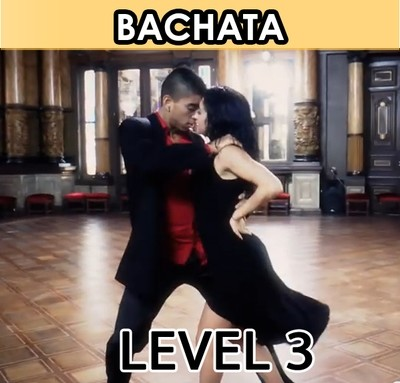 Bachata Dancing. Level 3