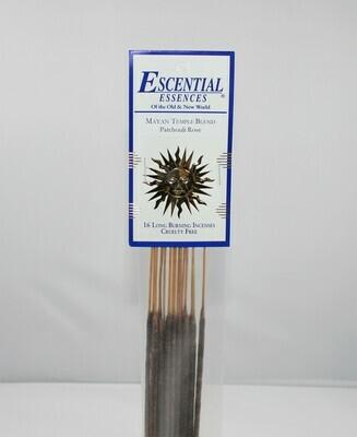 Mayan Temple Blend Incense Sticks (Patchouli Rose)