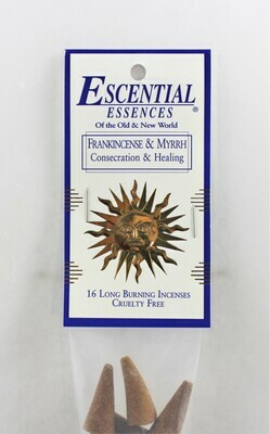 Frankincense & Myrrh Cones (Consecration & Healing)