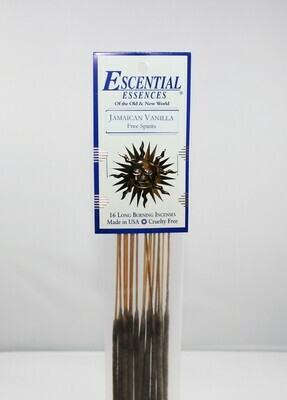 Jamaican Vanilla Incense Sticks (Free Spirits)