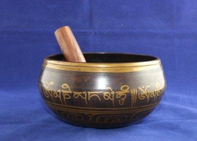Om Tibetan Singing Bowl (Large)