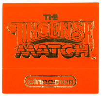 Cinnamon Incense Matches