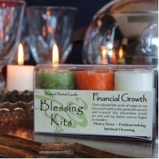 Financial Growth Blessing Votive Kit