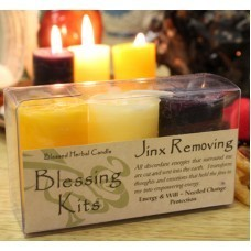 Jinx Removing Blessing Votive Kit