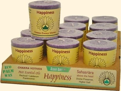 Happiness Votive Candle