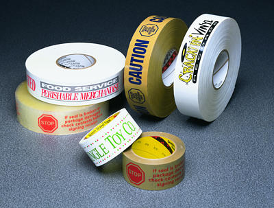 Scotch Custom Printed Cold Temperature Box Sealing Tape 3721
