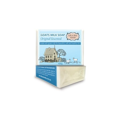 24 X Goats Milk Soap Original Unscented